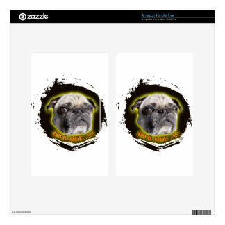 pug off skin for kindle fire
