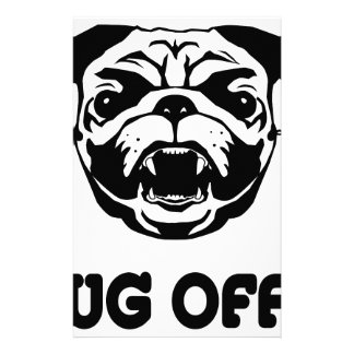 Pug Off Stationery