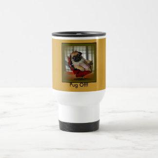 Pug Off! Travel Mug