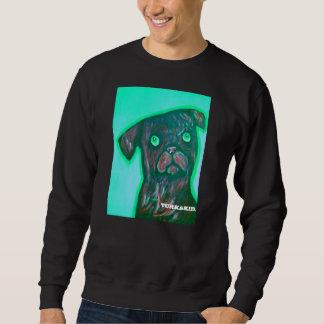 Pug on a Shirt. Sweatshirt