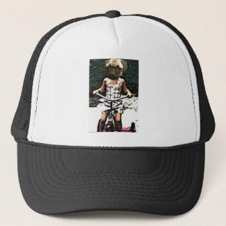 pug On Wheels Trucker Hat