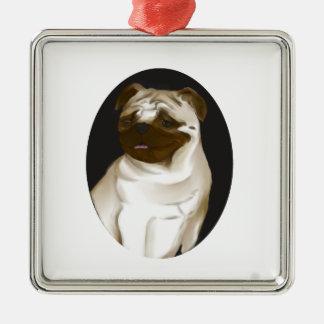 Pug Christmas Tree Ornaments