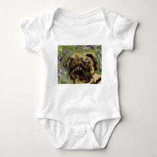 Pug Paint Shirts