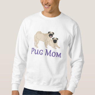 Pug Pair Dog Mom Sweatshirt
