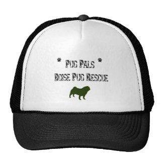pug pals boise mesh hat