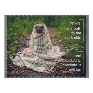 Pug Philosophy ID258 Poster