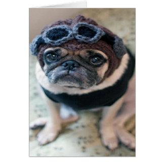 Pug Pilot Card