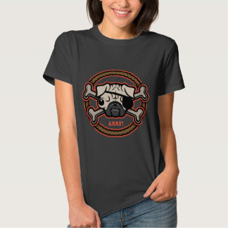 Pug Pirate 21213 -Rope T Shirts
