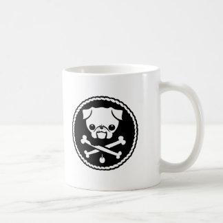 Pug Pirate Coffee Mug