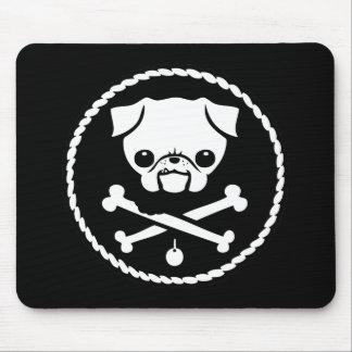 Pug Pirate Mouse Pad