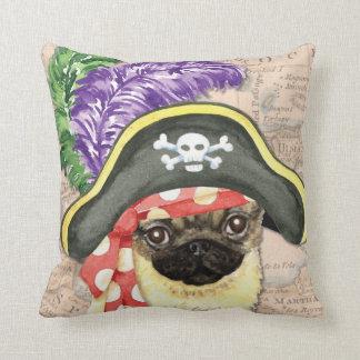 Pug Pirate Pillows