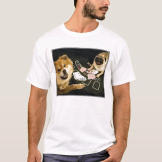 Pug Poker Mem's shirt