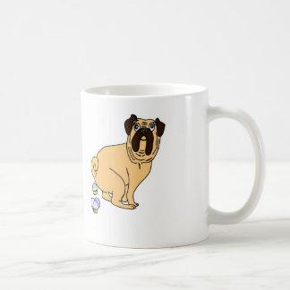 Pug Pooping Cupcakes Mug