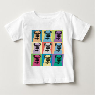 Pug Pop-Art Baby T-Shirt