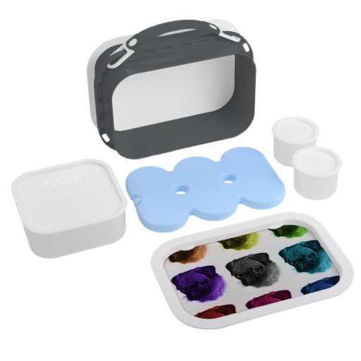 Pug Pop Art Lunch Box