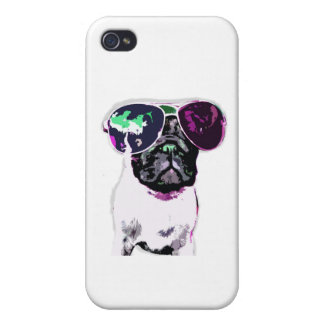 Pug Pop iPhone 4 Cases