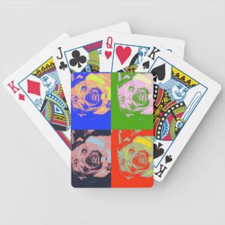 Pug PopArt Playing Cards