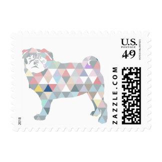 Pug Post! Stamp