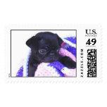 pug postage stamps!