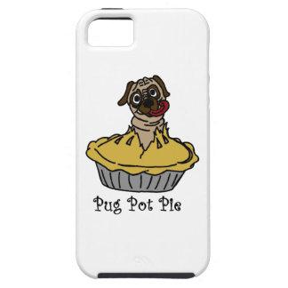 Pug Pot Pie iPhone SE/5/5s Case