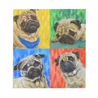 Pug Primary Notepad
