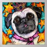 Pug Prince Poster