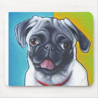 Pug Princess Pad Mouse Pad