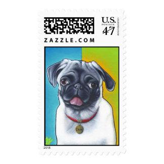 Pug Princess Postage