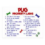 PUG Property Laws 2 Postcard