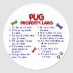 PUG Property Laws 2 Sticker