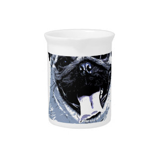 Pug Pugly Drink Pitchers