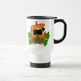 Pug Pumpkin Patch Travel Mug