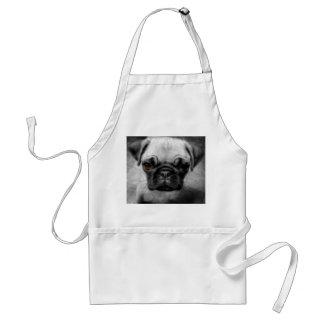 Pug Pup Adult Apron