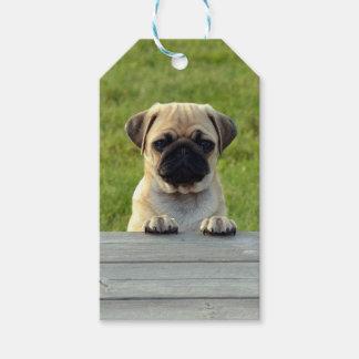 Pug Pup Gift Tags