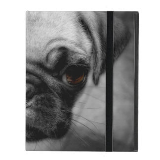 Pug Pup iPad Folio Case
