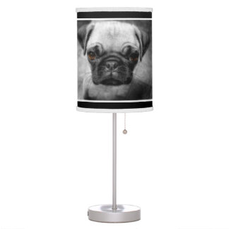 Pug Pup Table Lamp