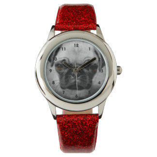 Pug Pup Wrist Watch