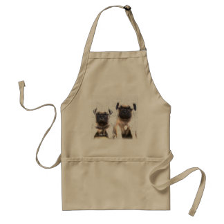 Pug puppy apron