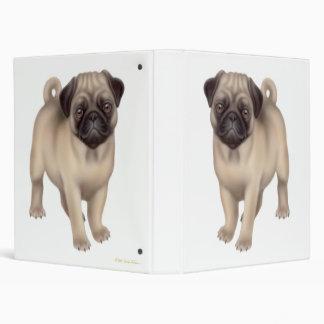 Pug Puppy Avery Binder