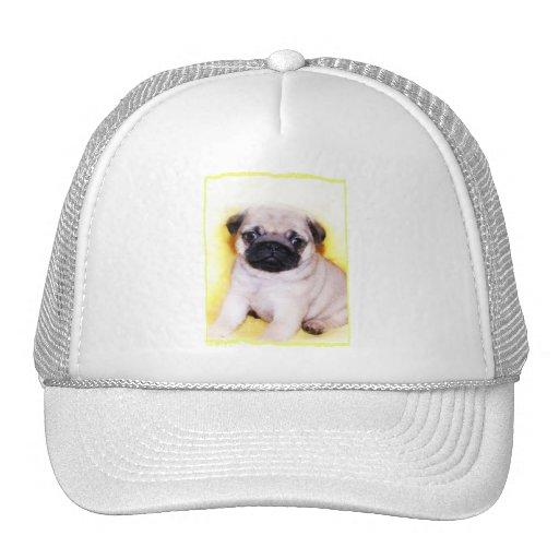Pug puppy baseball cap trucker hat
