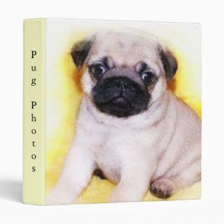 Pug Puppy binder