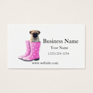 Pug Puppy Business Card