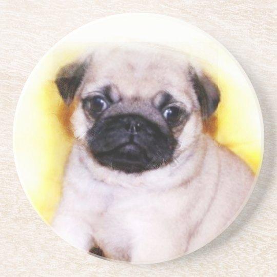 Pug Puppy Coaster