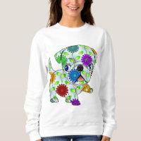 Pug Puppy - Colored Sweatshirt