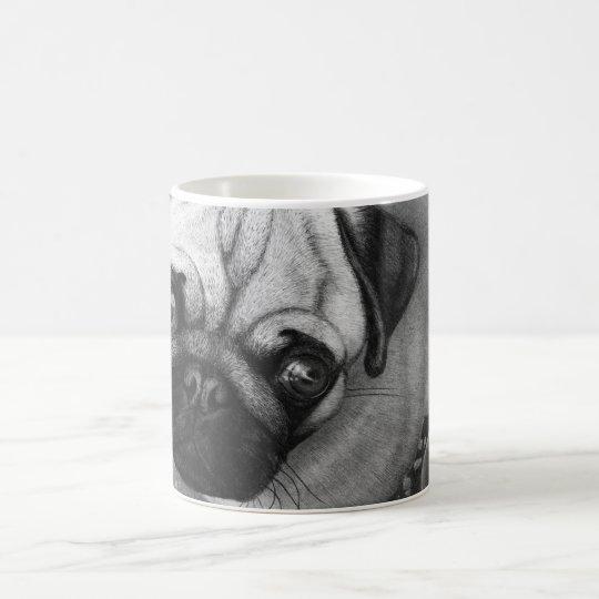 Pug Puppy Dog Art Coffee Mug