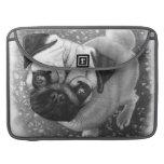 Pug Puppy Dog Art MacBook Pro Sleeves