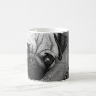 Pug Puppy Dog Art Coffee Mugs