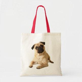 Pug Puppy Dog Canvas Tote Bag