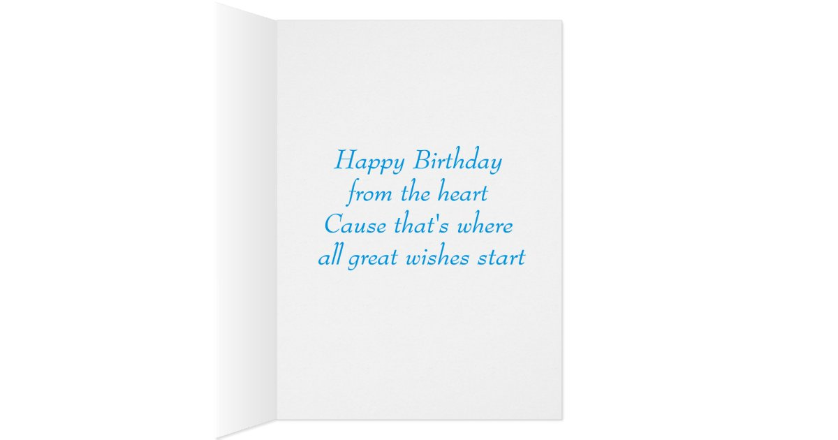 Pug Puppy Dog Happy Birthday Card - Verse inside | Zazzle