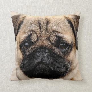 Pug Puppy Dog Square Throw Cushion